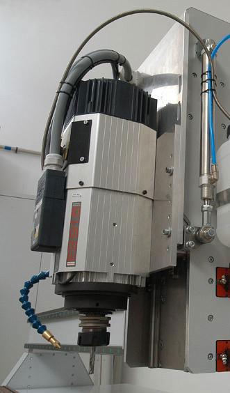 Пневматический шпиндель HSD pneumatic ISO-30 для работы с автосменщиком инструмента 4600 Вт, 1